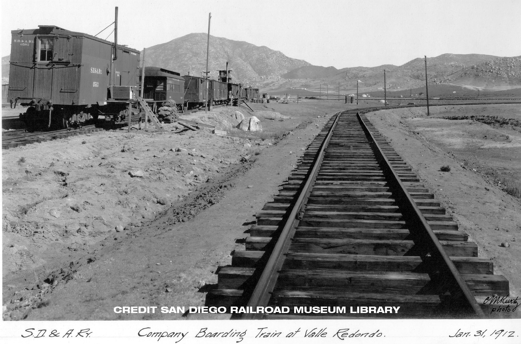 History of the san diego and arizona pacific southwest for Old house tracks