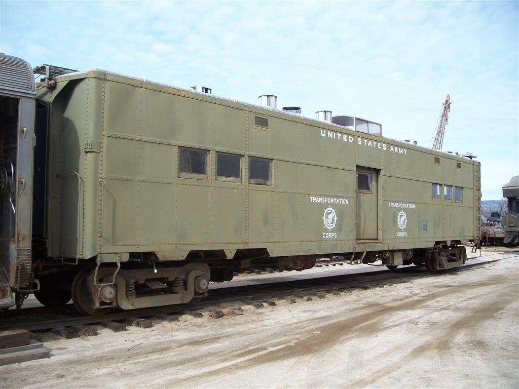 Us army railroad preservation index